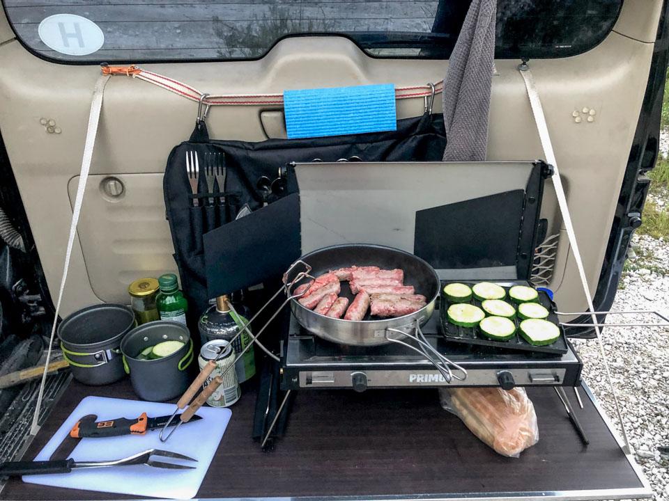 primus two burner stove